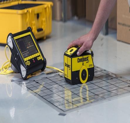 3D Concrete GPR Scanning